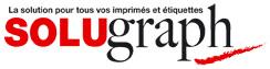 Logo Solugraph: imprimerie et étiquettes seringues