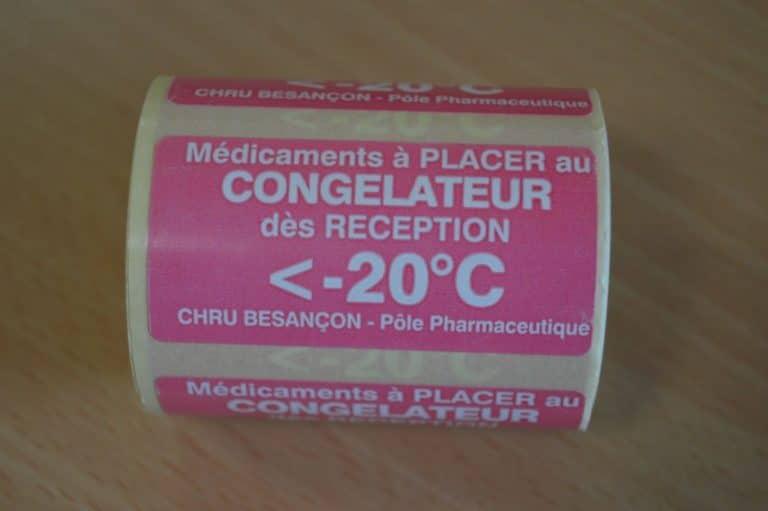 Bobine pharmacie congélateur