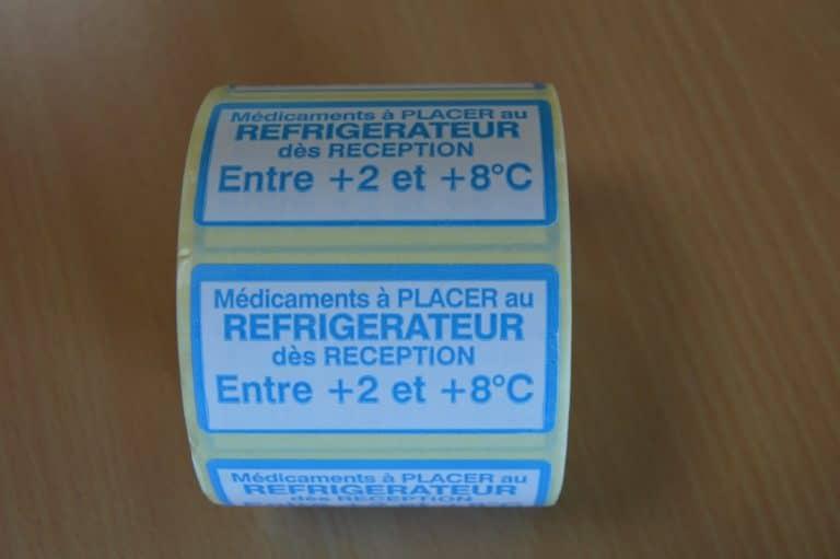 Bobine pharmacie réfrigérateur