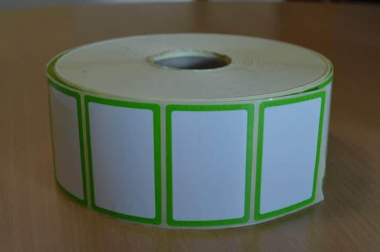 Bobine pharmacie vert